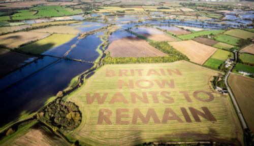 Foto Brexit Terealisasi, Segini Kerugian yang Dialami Britania Raya