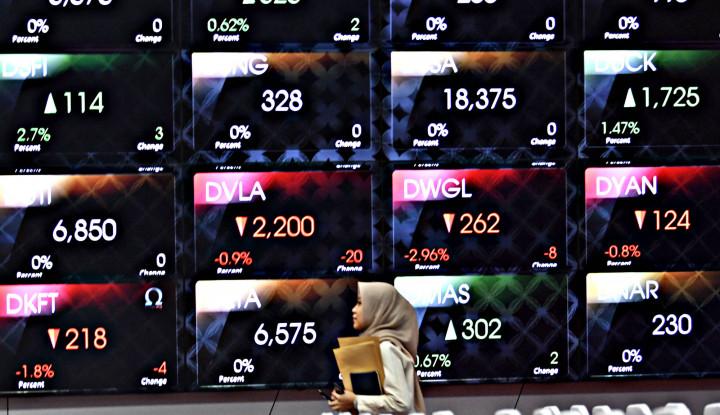 Pasar Modal Berkubang di Zona Merah, Lima Saham Ini Anjlok Parah Termasuk XL dan WIKA - Warta Ekonomi