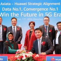 XL Axiata Gaet Huawei Kelola Jaringan 2G hingga 5G