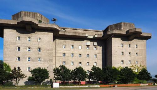Foto Bekas Bunker Nazi Perang Dunia II, Hotel Mewah Ini Tawarkan Berbagai Fasilitas