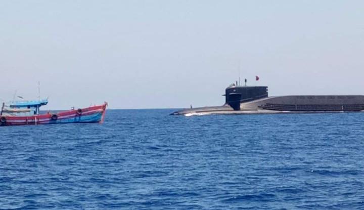 Penampakan Kapal Selam Nuklir China di Laut China Selatan, Begini Tampilannya - Warta Ekonomi