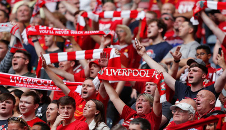 The Reds Segera Sabet Juara Liga Inggris, Warga Kota Liverpool Sambut Antusias - Warta Ekonomi