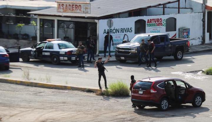 Usai Kota Meksiko Hancur, Pemerintah Akhirnya Lepas Anak Kartel Narkoba El Chapo - Warta Ekonomi