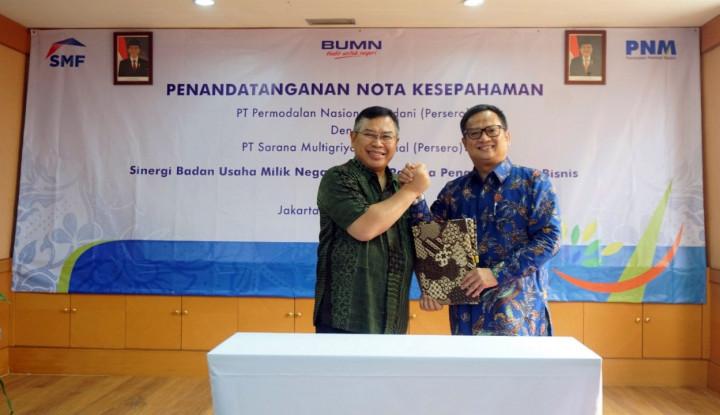 SMF Akan Salurkan KPR bagi Karyawan dan Mitra Binaan PNM - Warta Ekonomi