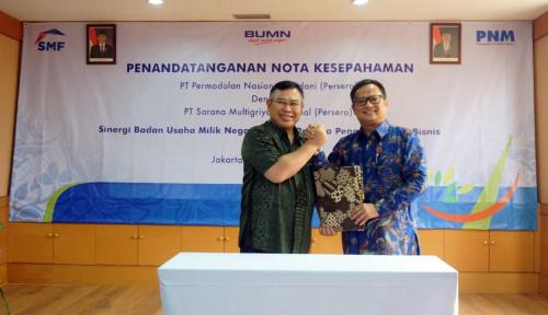 Foto SMF Akan Salurkan KPR bagi Karyawan dan Mitra Binaan PNM