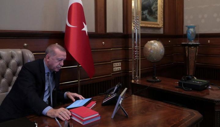 Erdogan Calling-calling Jokowi, Apa yang Dibahas?