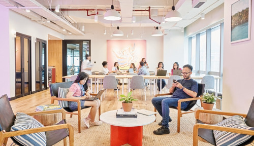 Foto WeWork Buka Ruang Kantor untuk Bisnis Menengah di Jantung SCBD