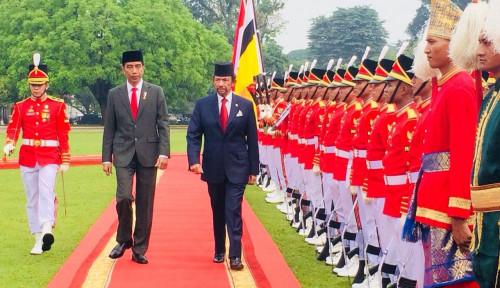 Foto Jelang Dilantik, Jokowi Jamu Beberapa Kepala Negara