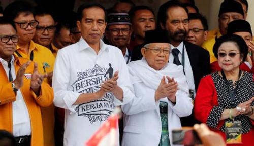 Foto Jokowi-Ma'ruf Berangkat ke Pelantikan dari Istana Merdeka