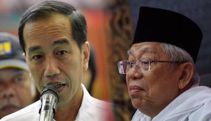 Berapa Persen Masyarakat yang Percaya Kabinet Jokowi-Amin? Wow, Angkanya Capai . . . . - Warta Ekonomi