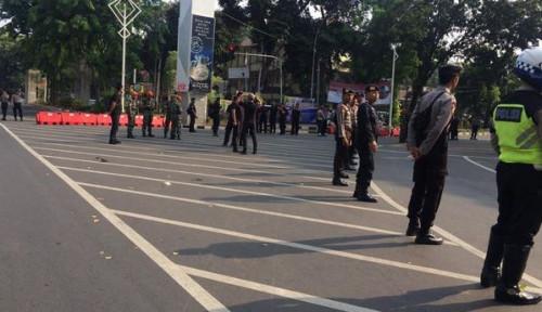 Foto Suasana Terkini di Gedung DPR/MPR Jelang Pelantikan Jokowi-Ma'ruf