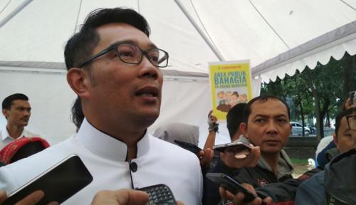 Ridwan Kamil Resmi Daftarkan Diri Jadi Relawan Vaksin Covid-19