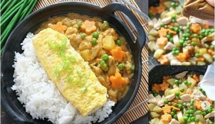 Hidangan Praktis dan Lezat buat Si Kecil: Vegetable Soup Cream dan Kare Jepang - Warta Ekonomi