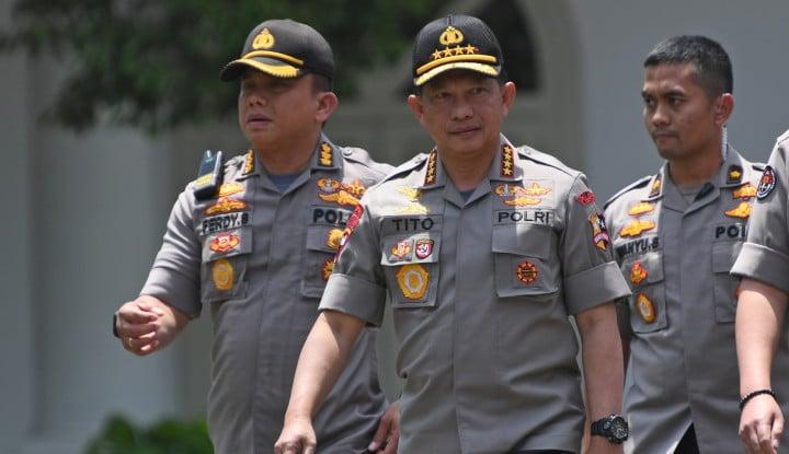 Tito Jadi Menteri, Ini Dia Kapolri yang Jadi Penggantinya - Warta Ekonomi