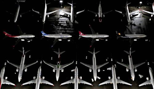Foto Ya Allah, Boeing 737 MAX Kembali Mengudara?