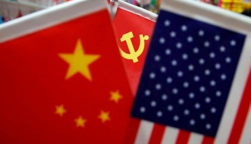 Foto Ketegangan AS dan China, Menteri Pertahanan Singapura Inginkan. . .