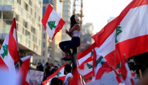 Foto Para Gaji Menteri di Lebanon Dipotong Sampai 50%, Ada Apa?