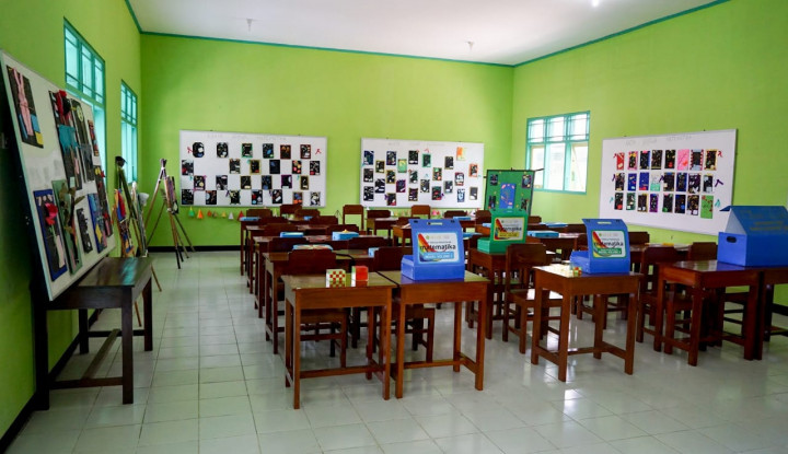 Waskita Karya Bangun Kembali Laboratorium Sekolah di Jateng - Warta Ekonomi