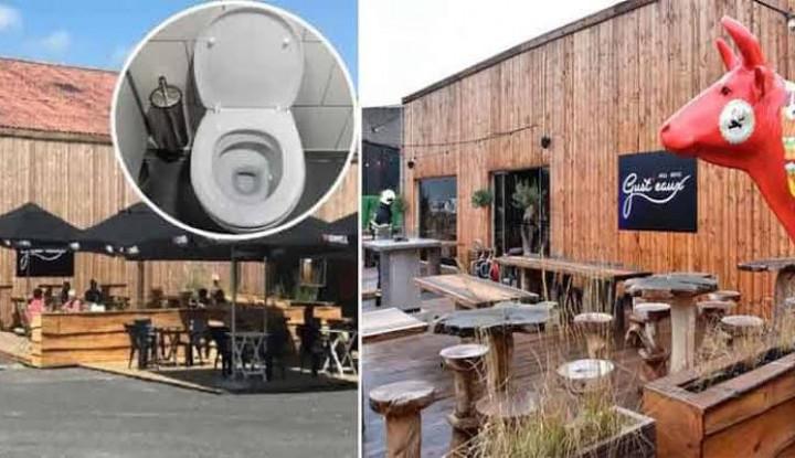 Duh! Makan di Restoran Ini Dapat Air Minum dari Toilet - Warta Ekonomi
