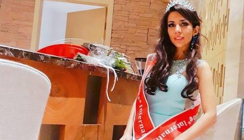 Foto Ratu Kecantikan Iran Minta Bantuan ke Filipina, Alasannya. . .