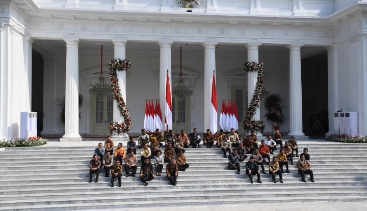 Daftar Lengkap Menteri Jokowi, Prabowo Fix Jadi Menteri - Warta Ekonomi