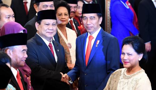 Foto Sekarang Prabowo Jadi Pembantu Jokowi, PDIP Ajak Lupakan Masa Lalu