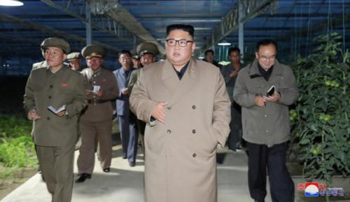 Foto Kim Jong-un Perintahkan Bongkar Fasilitas Korsel di Resor Gunung Kumgang karena Alasan Ini