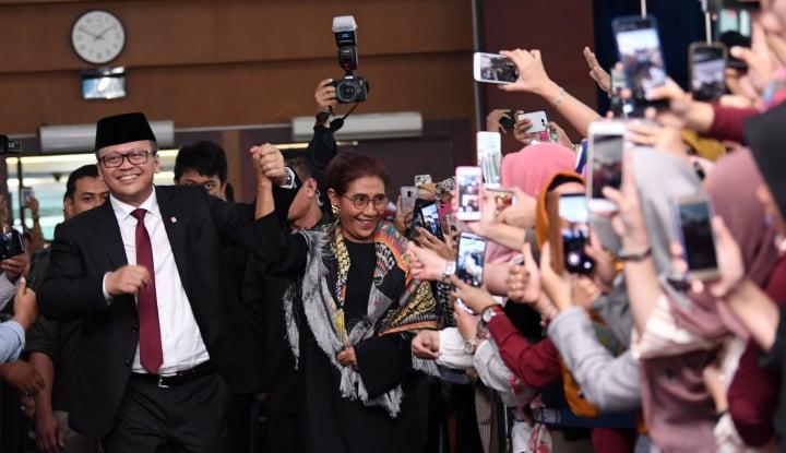 Menteri-Menteri Jokowi: Prabowo Paling Banyak Dimention, Susi Paling Dicari - Warta Ekonomi