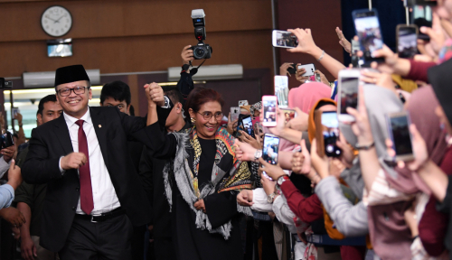 Foto Menteri-Menteri Jokowi: Prabowo Paling Banyak Dimention, Susi Paling Dicari