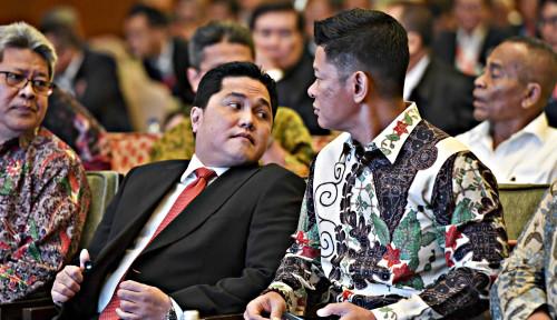 Foto Kinerja Kurang Moncer, Erick Thohir Diminta Ganti Bos KBN