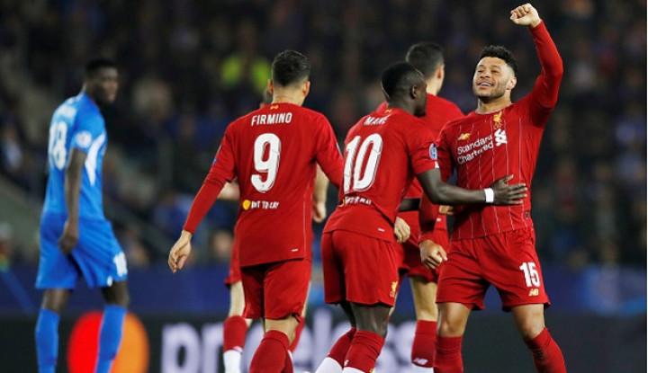 Dua Gol Chamberlain Sejajarkan Dirinya dengan Lionel Messi - Warta Ekonomi