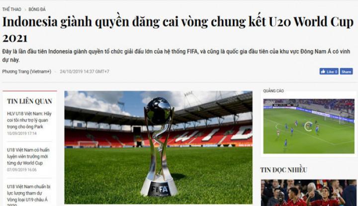 Sederet Media Asing Soroti Terpilihnya Indonesia Jadi Tuan Rumah Piala Dunia U-20 2021 - Warta Ekonomi