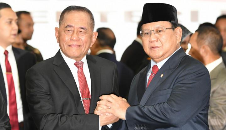 Prabowo Jadi Pembantu Jokowi, 2024 Ryamizard Nyapres? - Warta Ekonomi
