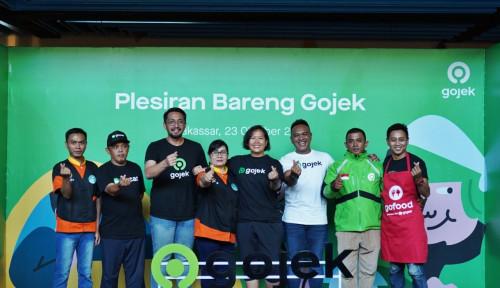 Foto Plesiran Bareng Gojek, Bukti Gojek Tunjang Pariwisata dan UMKM Makassar