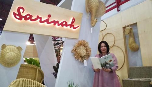 Foto Sarinah Pamerkan Dekorasi Rumah Bergaya Kontemporer di Mozaik Indonesia