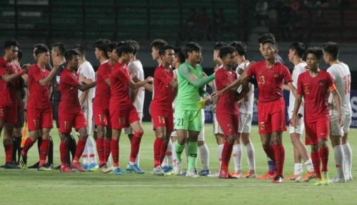Foto Disiarkan Langsung, Berikut Jadwal Main Timnas Indonesia U19 Vs Hong Kong