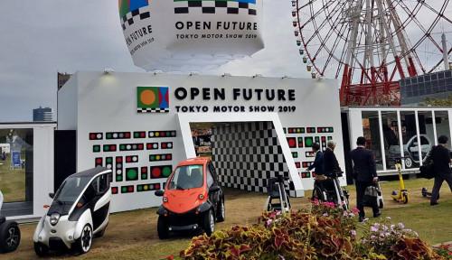 Foto Tokyo Motor Show 2019: Melihat Masa Depan Kendaraan