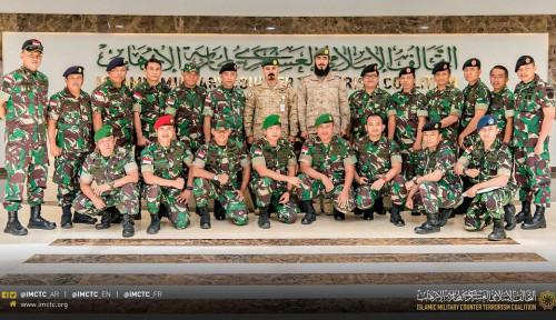 Foto Delegasi TNI Kunjungi IMCTC di Riyadh, Tujuannya untuk...
