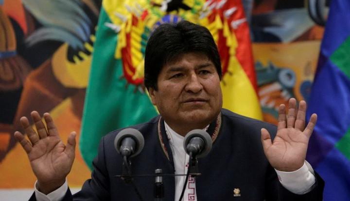 Krisis Bolivia, Evo Morales Masih Percaya PBB Bisa Jadi Penengah - Warta Ekonomi