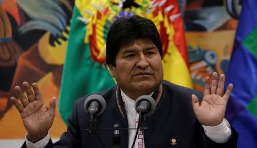 Foto Evo Morales Terbang ke Meksiko Tinggalkan Bolivia
