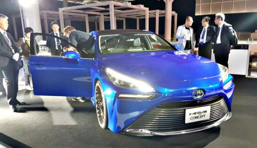 Foto Toyota Kenalkan Mirai Generasi ke-2 di Tokyo Motor Show 2019
