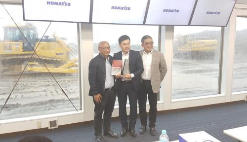 Foto Ini Dia Komatsu Smart Construction
