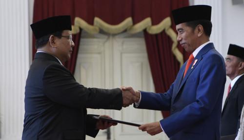 Foto Terkuak! Alasan Prabowo Rela Jadi Anak Buah Jokowi, Ternyata ada Misi...