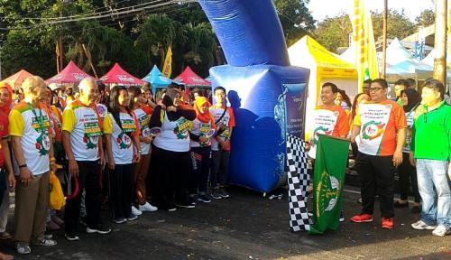 Foto Bantu Anak Penderita Kanker, IDI Gelar Medical Charity Fun Run & Walk di Kampus USU