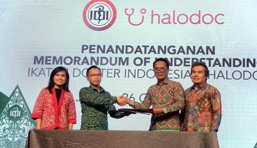 Foto Halodoc dan IDI Kolaborasi Riset Kesehatan