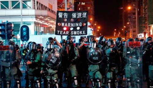 Foto Kepolisian Hong Kong Minta Demonstran Gelar Aksi Akhir Pekan dengan Damai