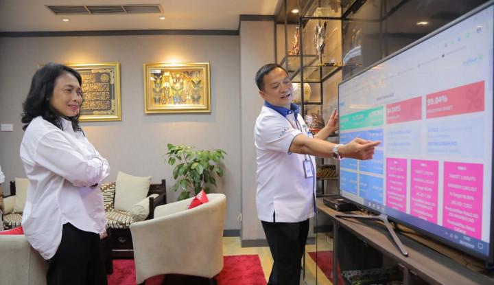 5 Hari Setelah Dilantik, Menteri PPPA Kunjungi Kantor PNM - Warta Ekonomi