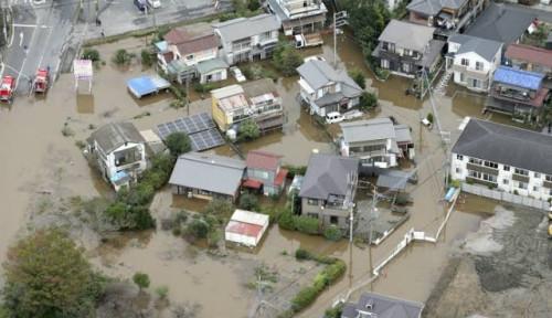 Usai Banjir, Jepang Kembali Diterpa Hujan Lebat