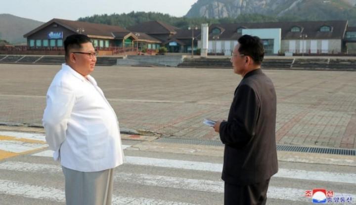 Banyak bolak-balik helikopter di langit Pyongyang - Kim Jong-un Dikabarkan Meninggal