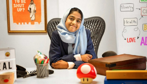 Bantu Kesehatan Mental Remaja Muslim, Bocah 11 Tahun Ini Ciptakan Panggilan Darurat untuk 'Curhat'